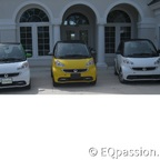 My three Smart EV's