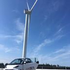 Mit dem smart BRABUS electric drive um die Ostsee