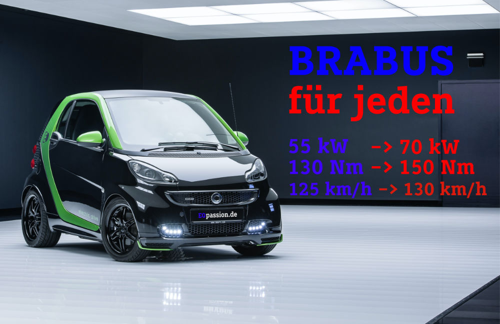 Update to the 95 HP Brabus software